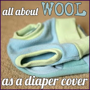 All about wool as a diaper cover