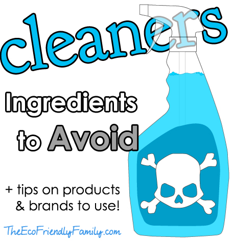 Cleaning Ingredients to Avoid