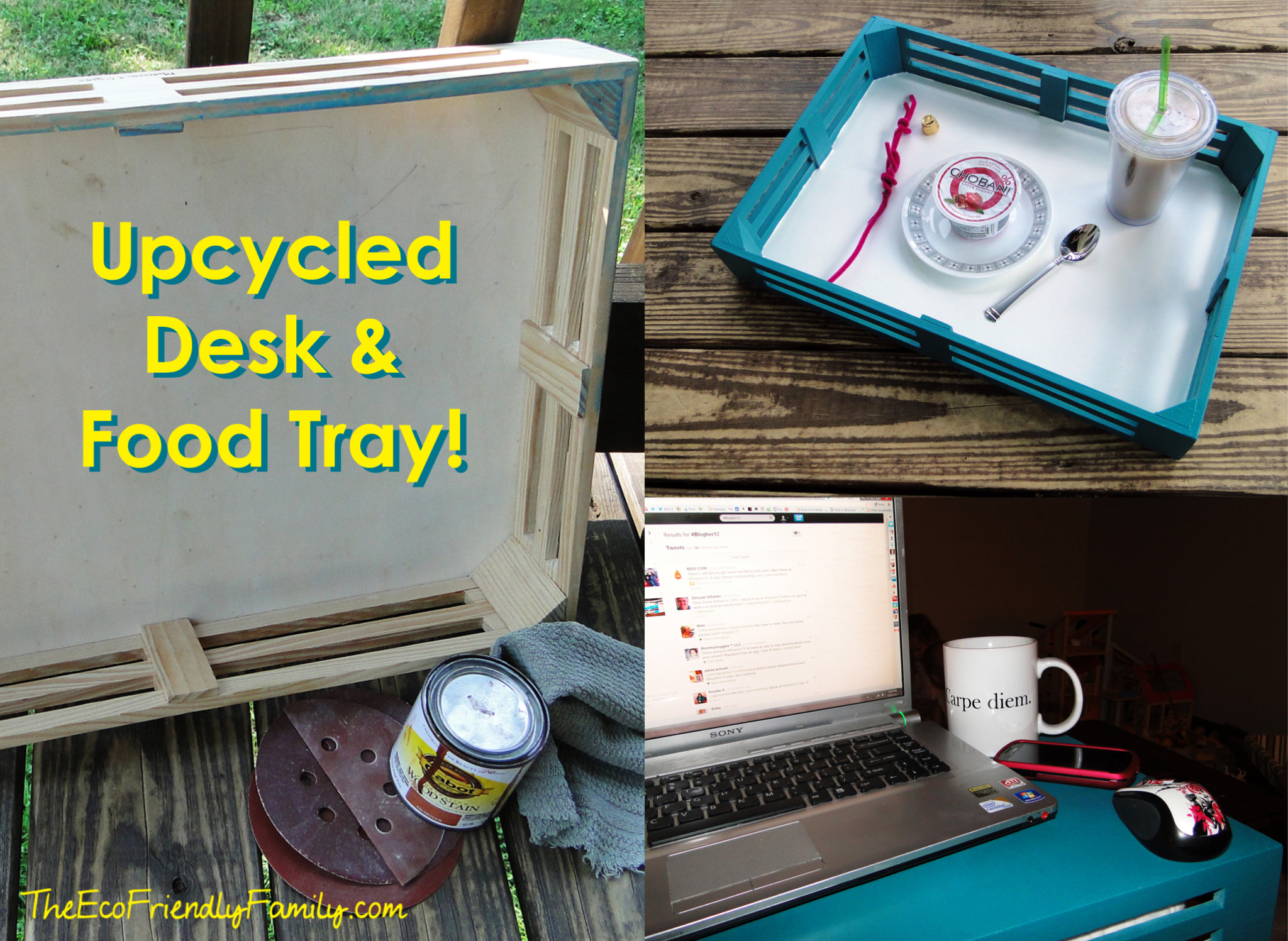 Upcycledtray. Full resolution  photograph, nominally Width 2048 Height 1497 pixels, photograph with #BEBB0D.
