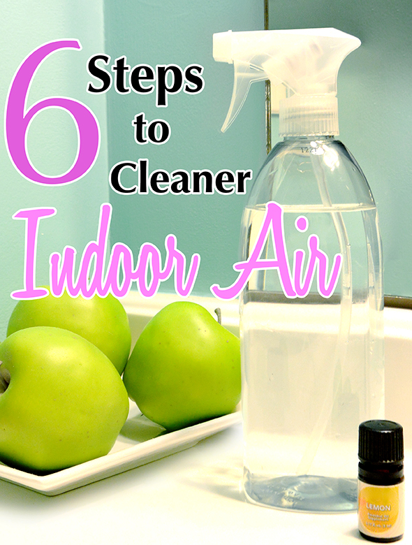 6 Steps to Cleaner Indoor Air