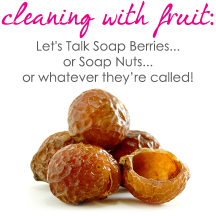 All about soap berries... or soap nuts... or whatever!