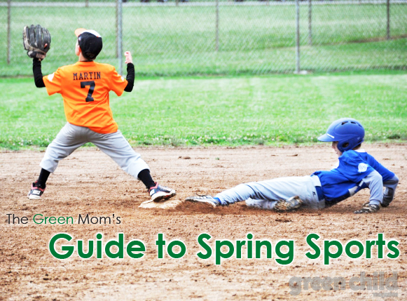 The Green Mom's Guide to Spring Sports