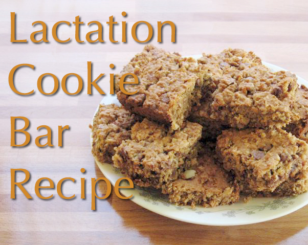 Lactation Cookie Bar Recipe