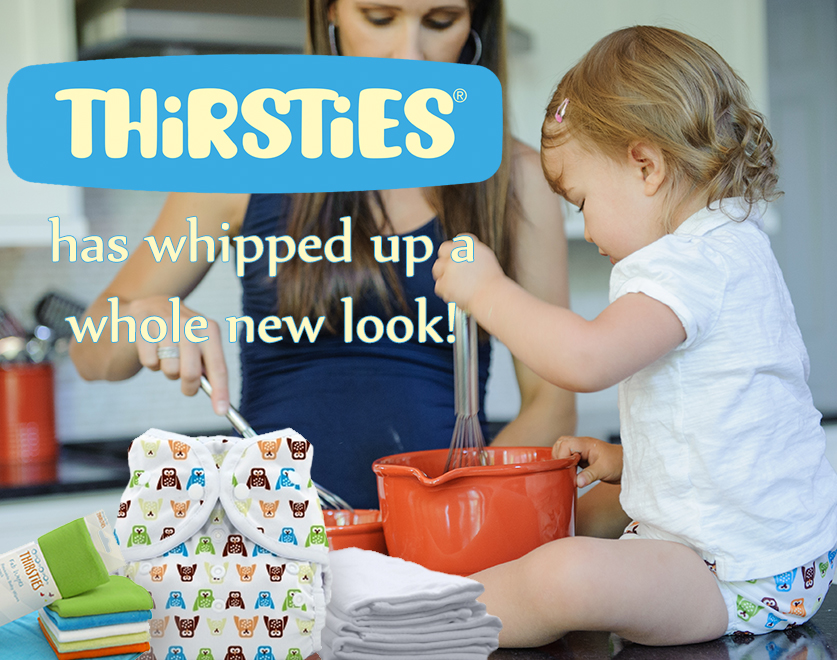 Thirsties has a new look!