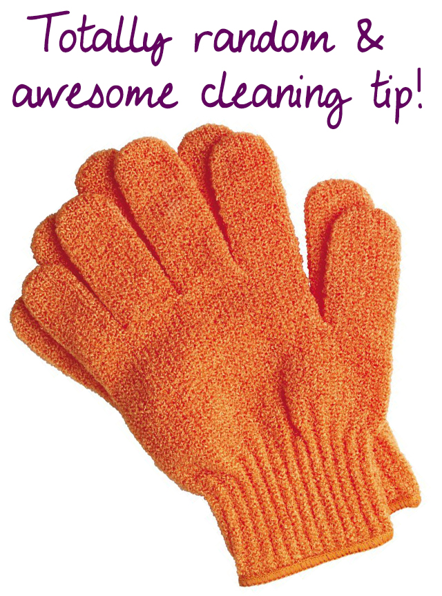 Totally awesome cleaning tip!