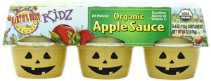 Halloweenofied Applesauce
