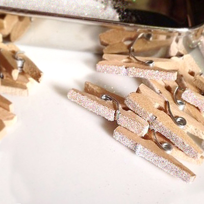 Crafty Glitter Clothespins copy
