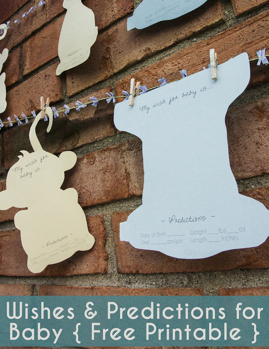 Wishes and Predictions for Baby Shower