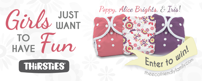 Enter to Win this new collection from Thirsties! Ends 8/16