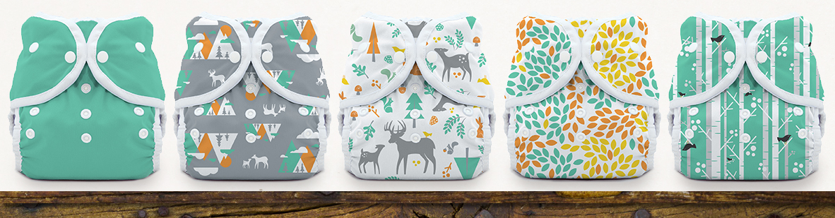 Thirsties Woodland Collection