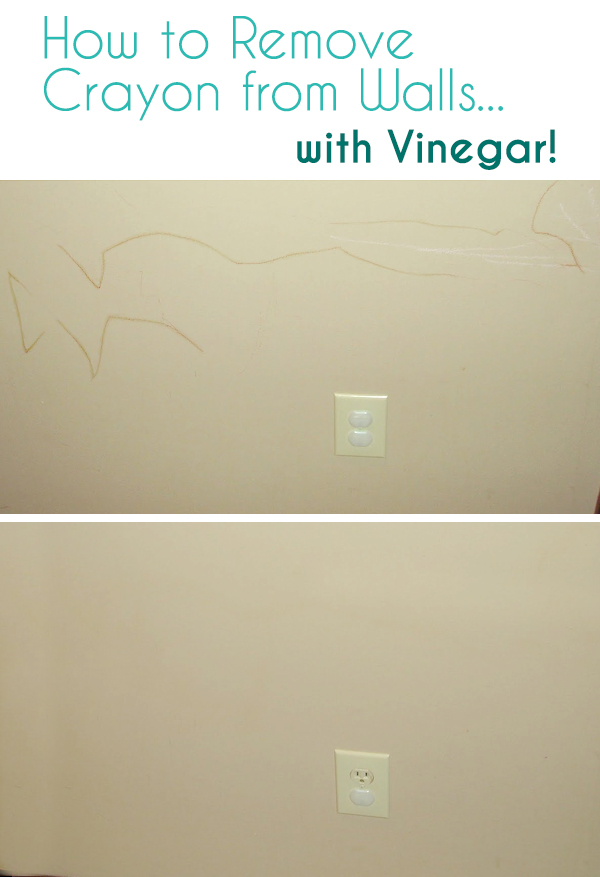 How To Remove Crayon From Walls