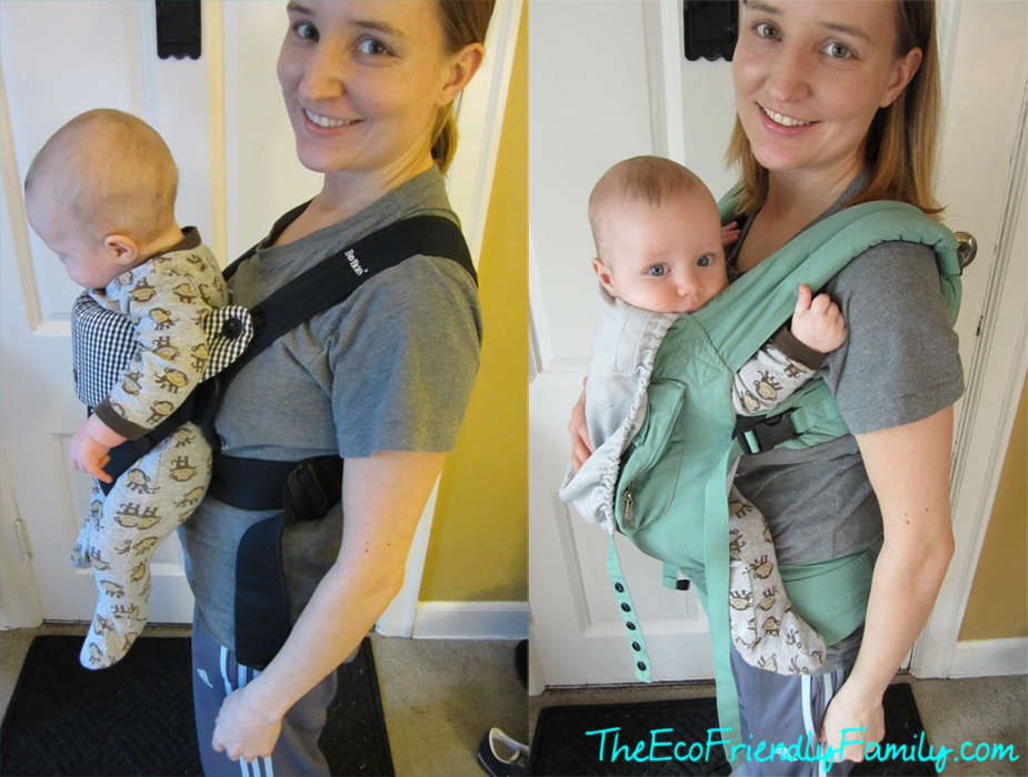 Forward Facing Moby Wrap Instructions