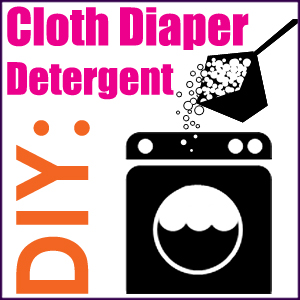 Homemade Cloth Diaper Detergent Recipe