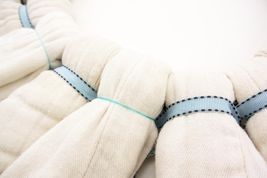 Cloth Diaper Wreath Step 6