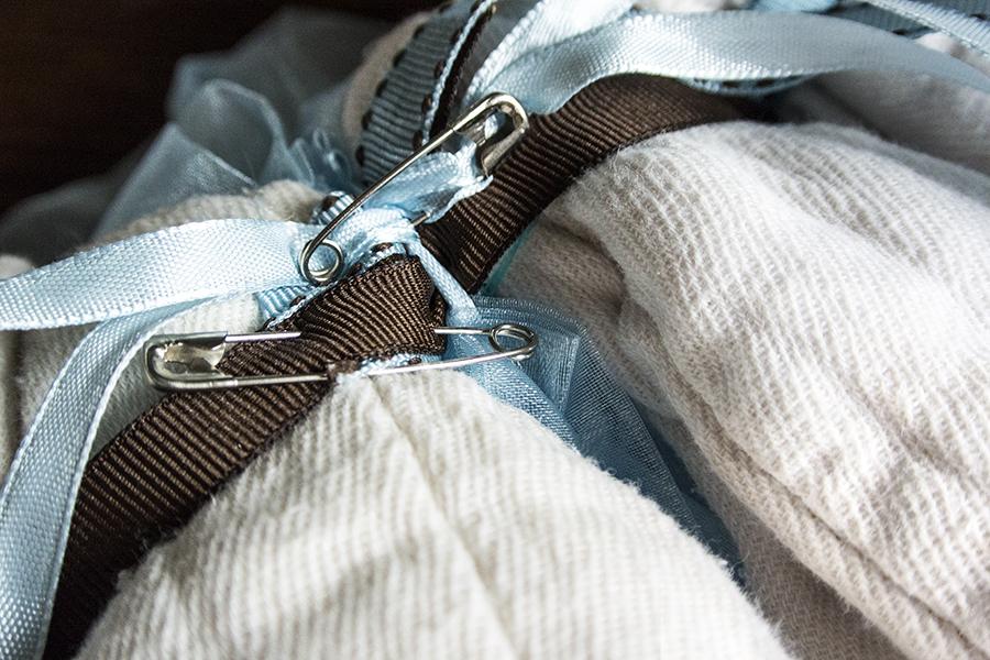 Cloth Diaper Wreath Step 8