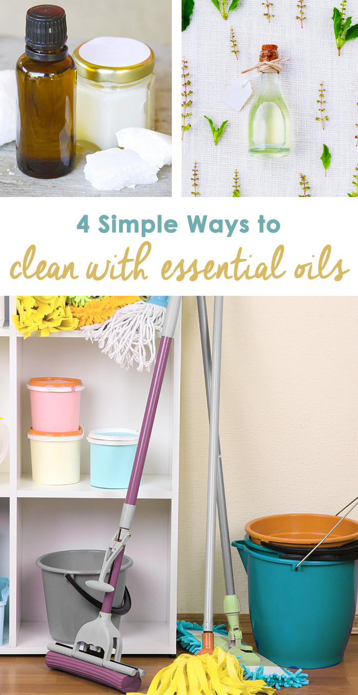 4 Simple Ways to Clean With Essential Oils