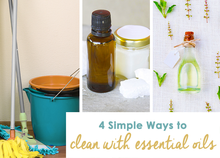 Simple Ways to Clean With Essential Oils